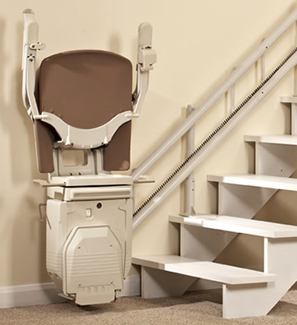 The Refurbished Twin Track Curved Stairlift
